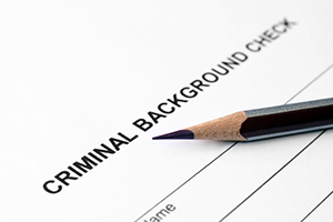 Criminal background check CT